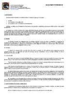Réglement Intérieur